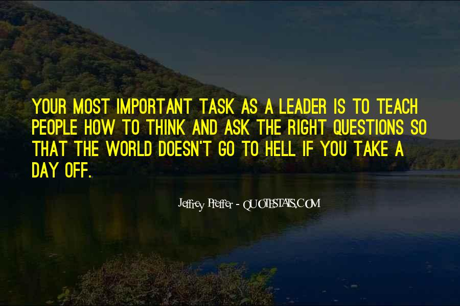 Go To Hell World Quotes #365178