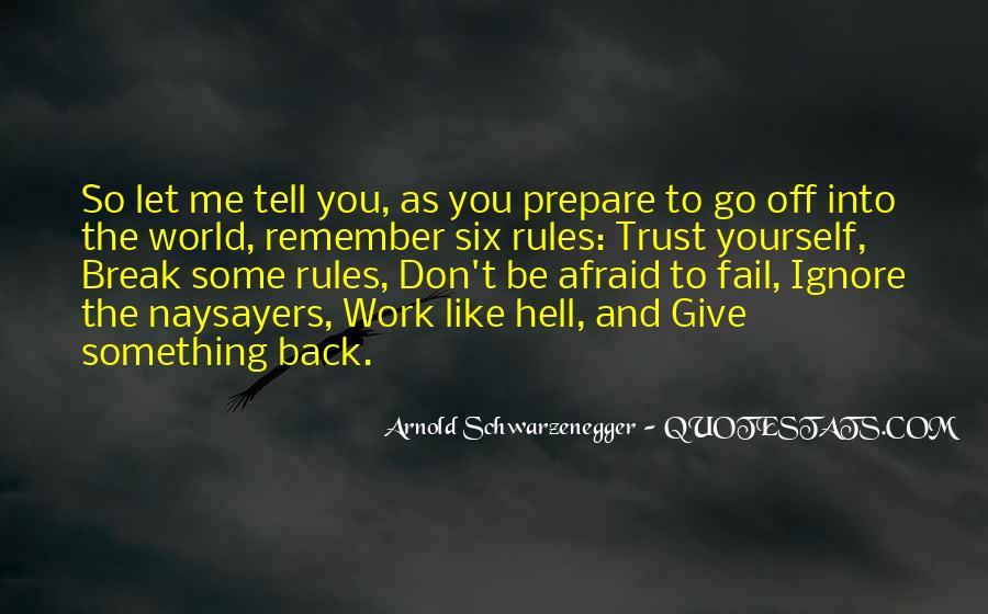 Go To Hell World Quotes #367776