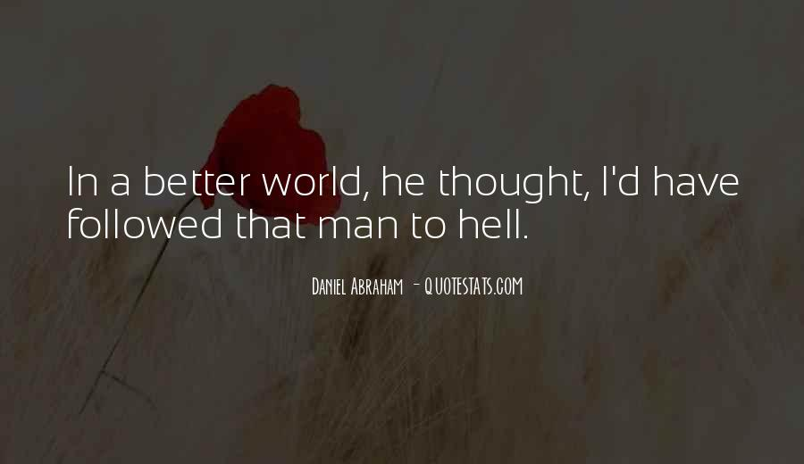Go To Hell World Quotes #463153