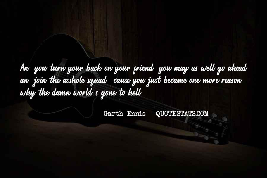 Go To Hell World Quotes #70855