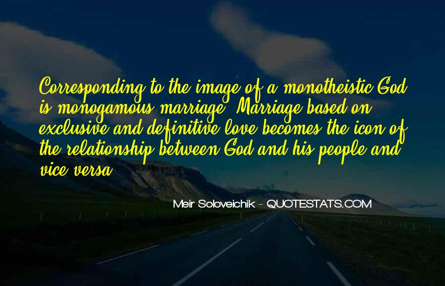 God Based Relationship Quotes #1224682