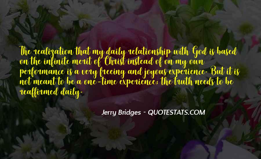 God Based Relationship Quotes #177664