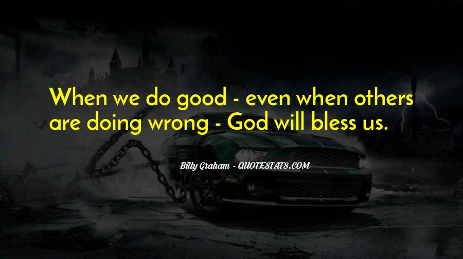 God Bless All Of Us Quotes #79839
