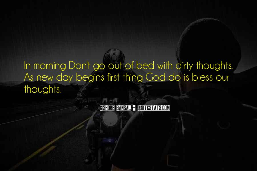 God Bless Morning Quotes #125428