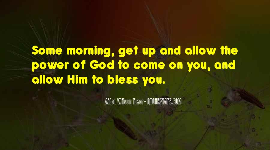 God Bless Morning Quotes #1301972