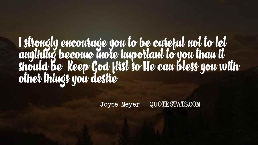 God Bless You More Quotes #1169501