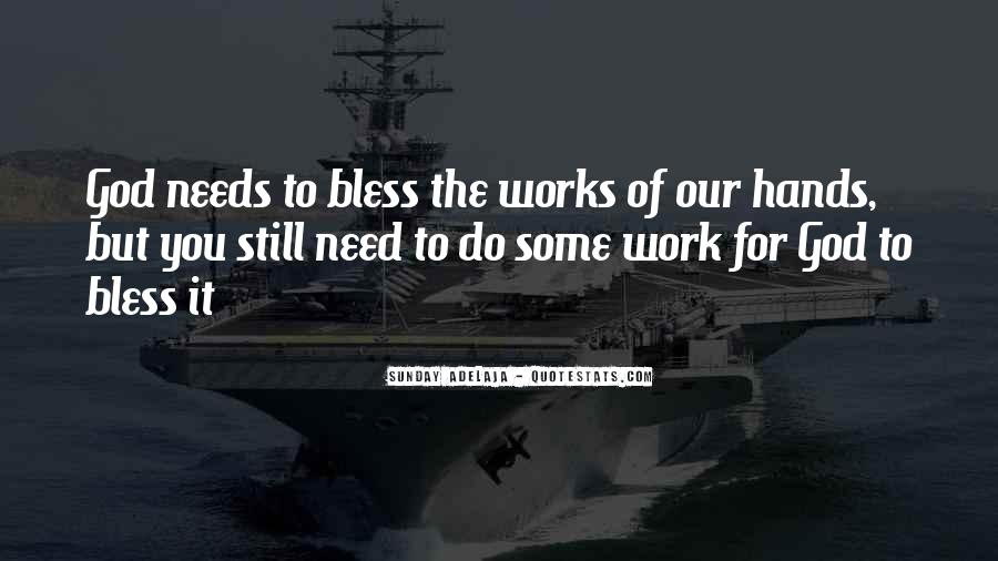 God Bless You More Quotes #35915