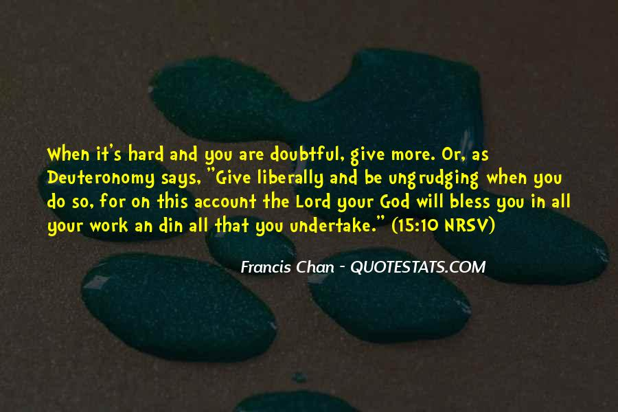 God Bless You More Quotes #696840