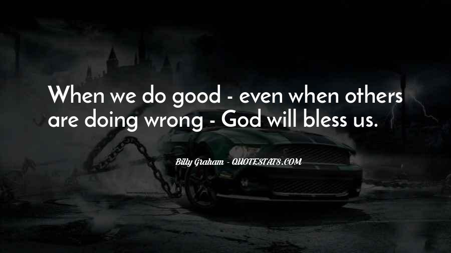 God Bless You More Quotes #79839