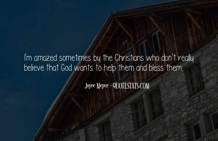 God Bless You More Quotes #87153