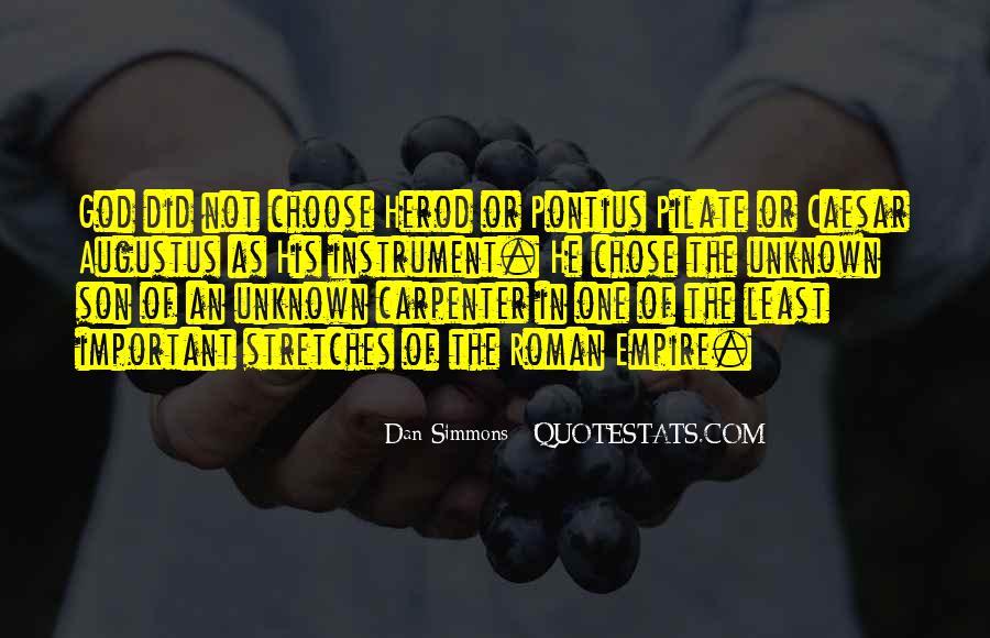 God Chose Us Quotes #1014633