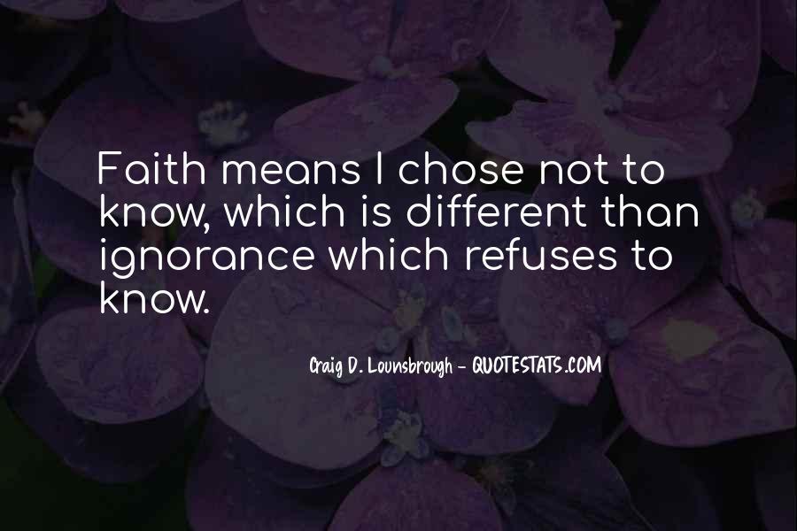 God Chose Us Quotes #1019920