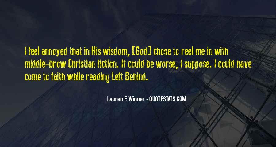 God Chose Us Quotes #1054329