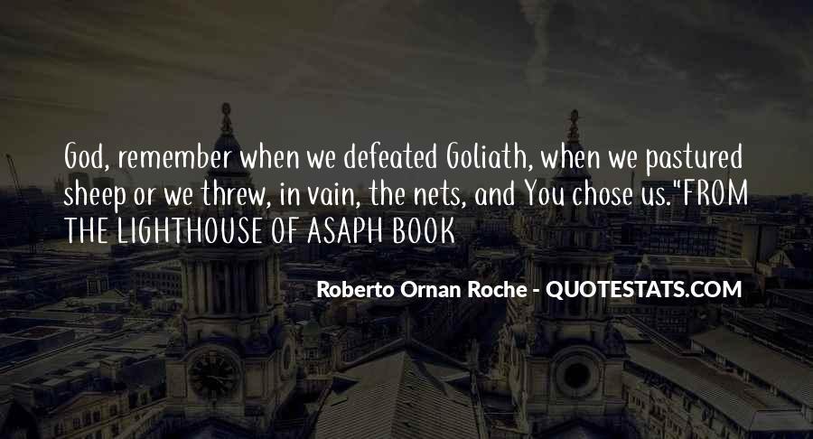 God Chose Us Quotes #1106218