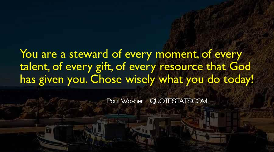 God Chose Us Quotes #120651