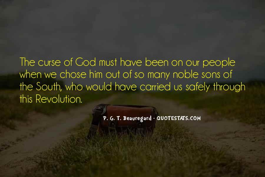 God Chose Us Quotes #1667801