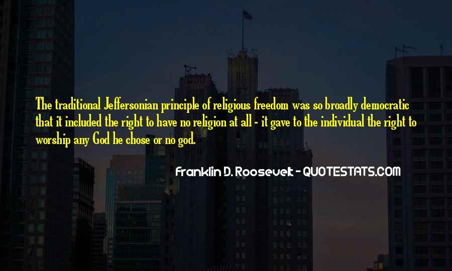 God Chose Us Quotes #19665