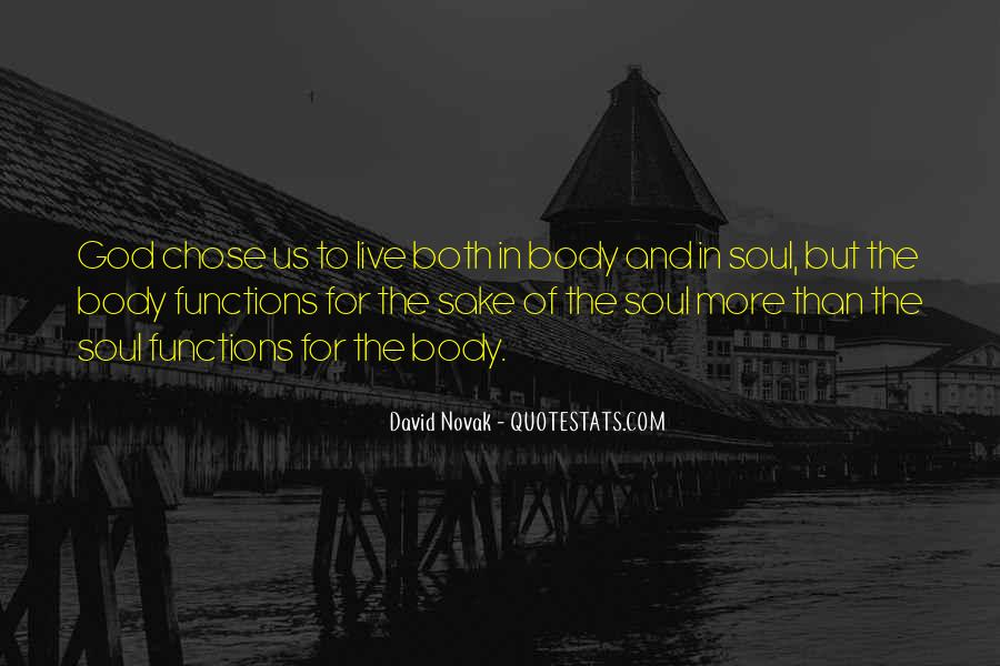 God Chose Us Quotes #29239