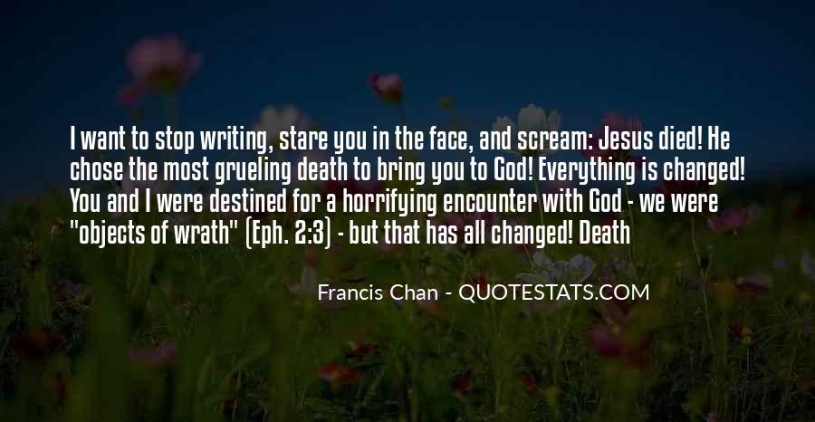 God Chose Us Quotes #358496