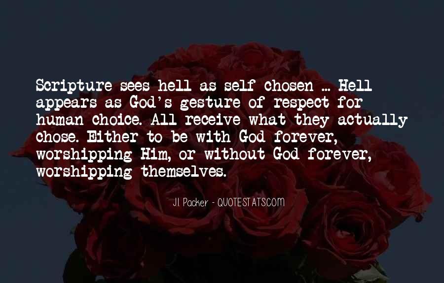 God Chose Us Quotes #380380