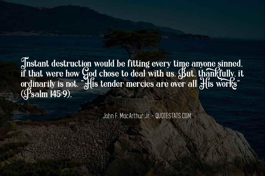 God Chose Us Quotes #666406
