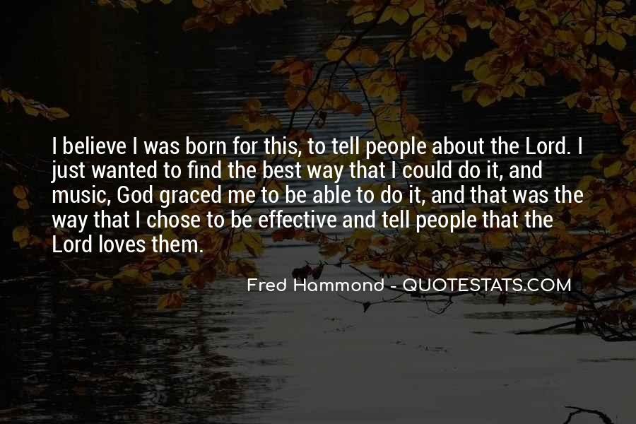 God Chose Us Quotes #713014