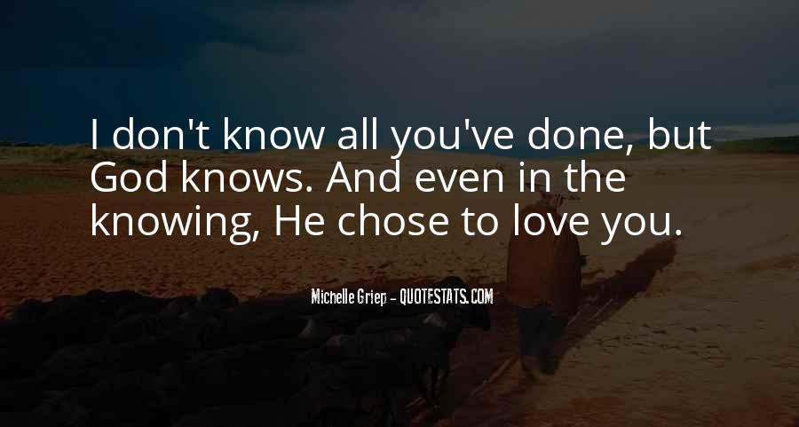 God Chose Us Quotes #935268