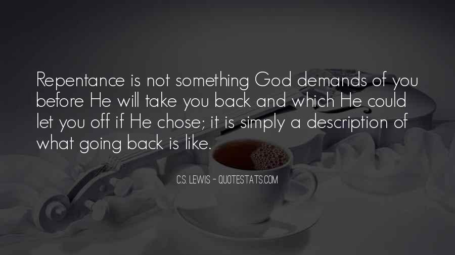 God Chose Us Quotes #977406