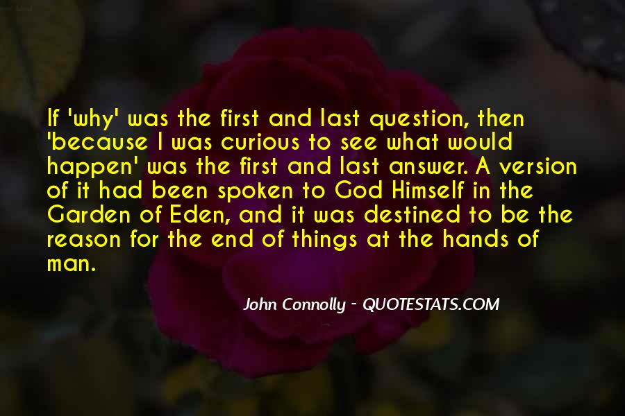 God Comes First Quotes #18043