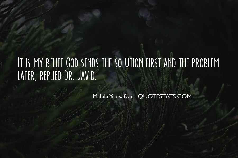 God Comes First Quotes #21192