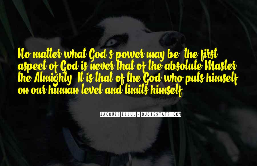 God Comes First Quotes #27703