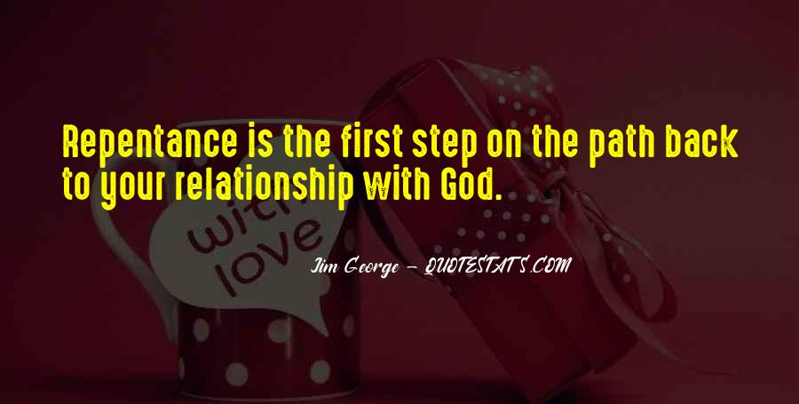 God Comes First Quotes #40081