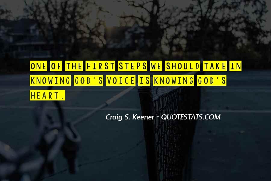 God Comes First Quotes #48863