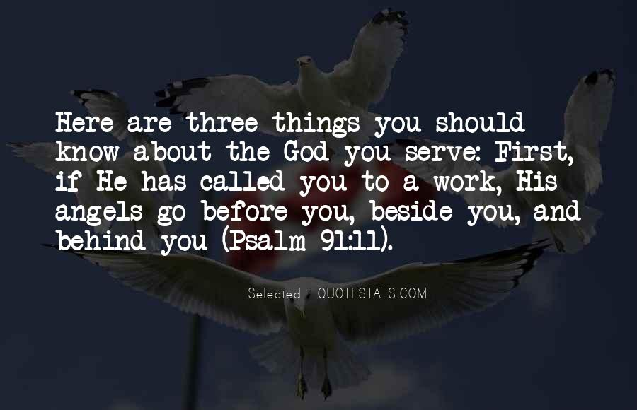 God Comes First Quotes #53442