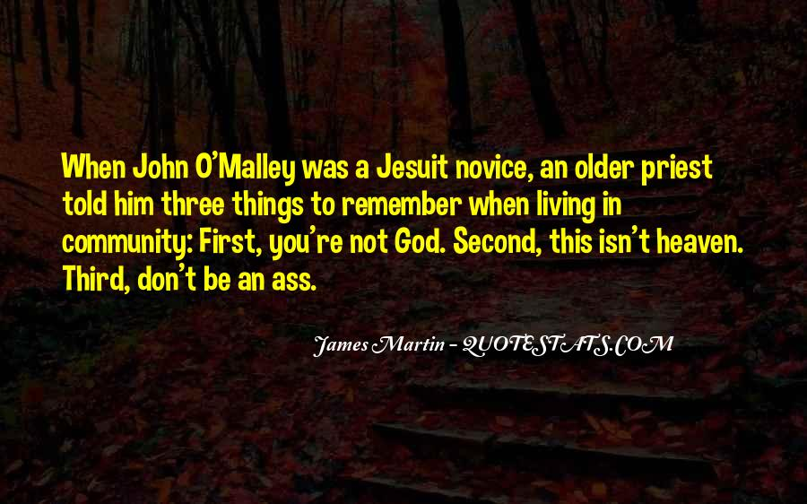 God Comes First Quotes #54917