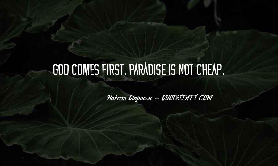 God Comes First Quotes #617742