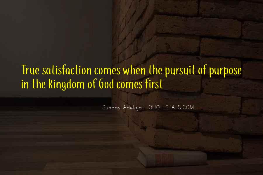 God Comes First Quotes #819793
