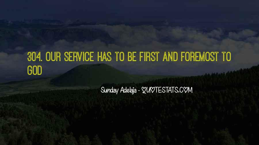 God Comes First Quotes #95229