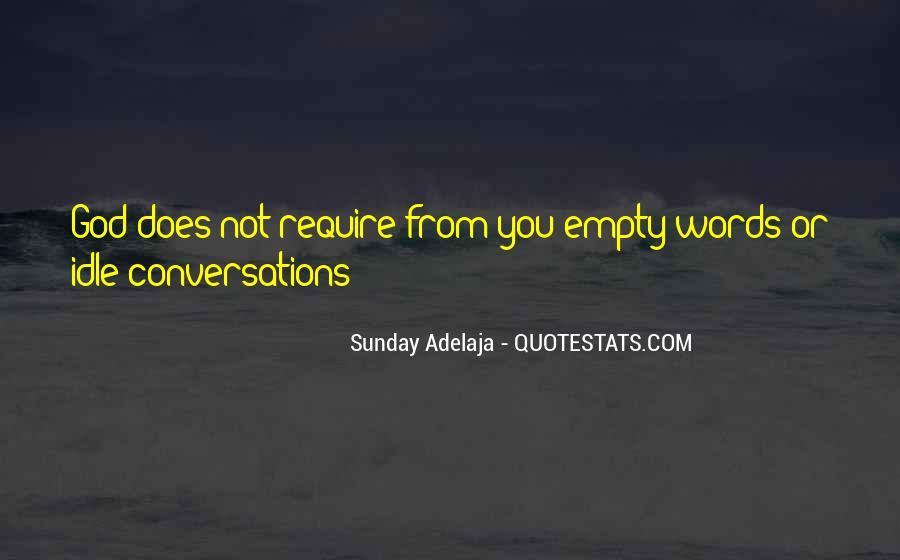 God Conversation Quotes #1005872