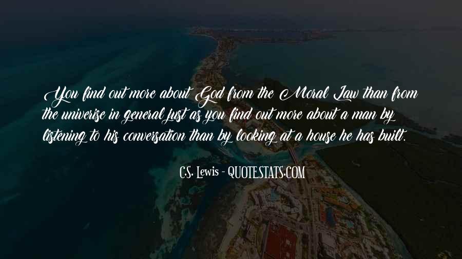 God Conversation Quotes #1409341
