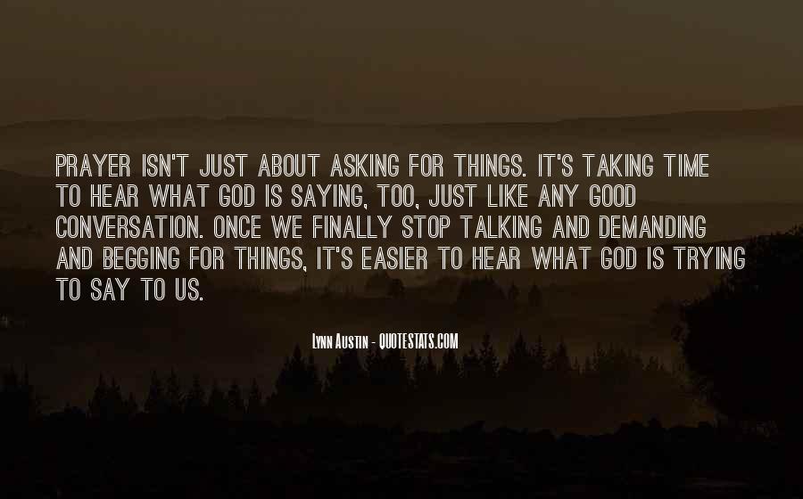God Conversation Quotes #1477769