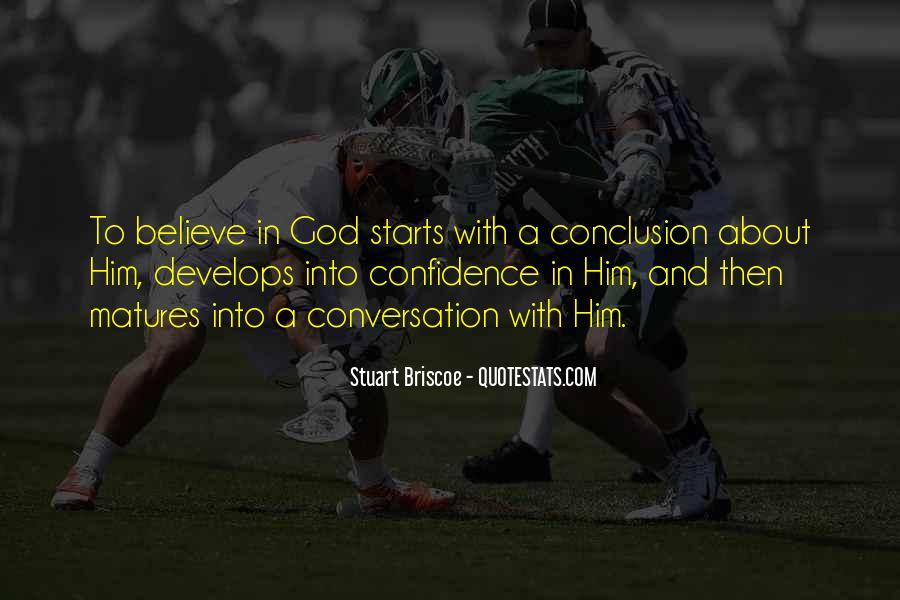 God Conversation Quotes #1499318