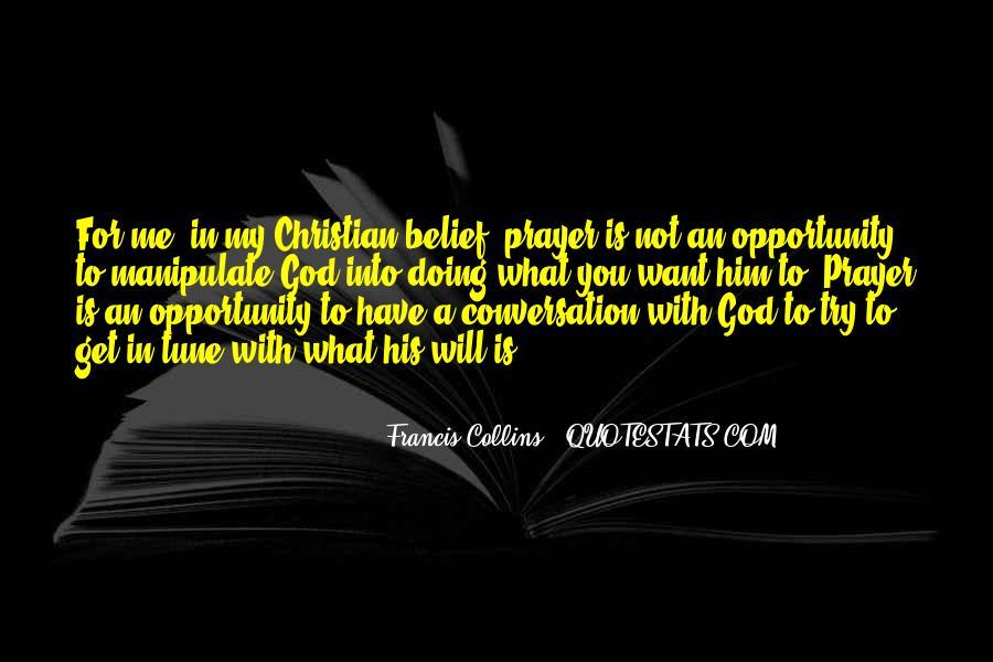 God Conversation Quotes #1564642
