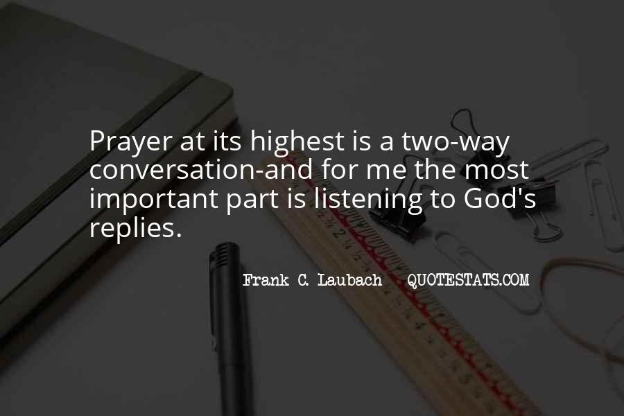 God Conversation Quotes #1584989