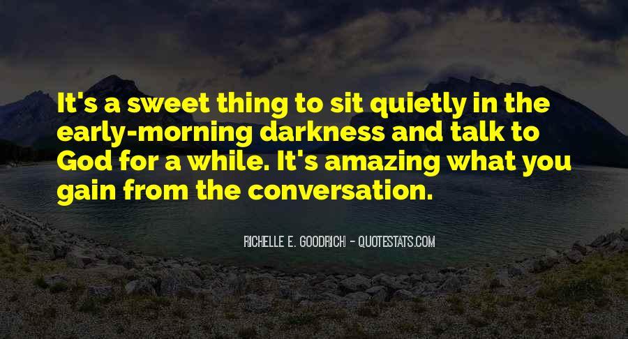 God Conversation Quotes #1693052