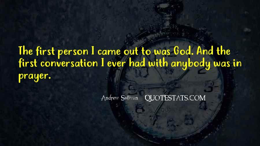 God Conversation Quotes #1697038