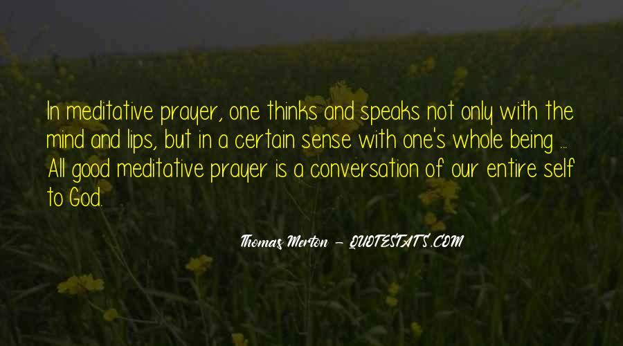 God Conversation Quotes #1715276