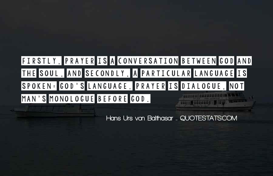 God Conversation Quotes #1740915