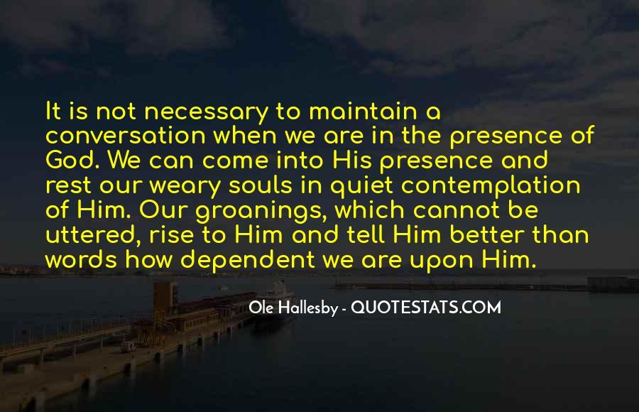 God Conversation Quotes #1875546