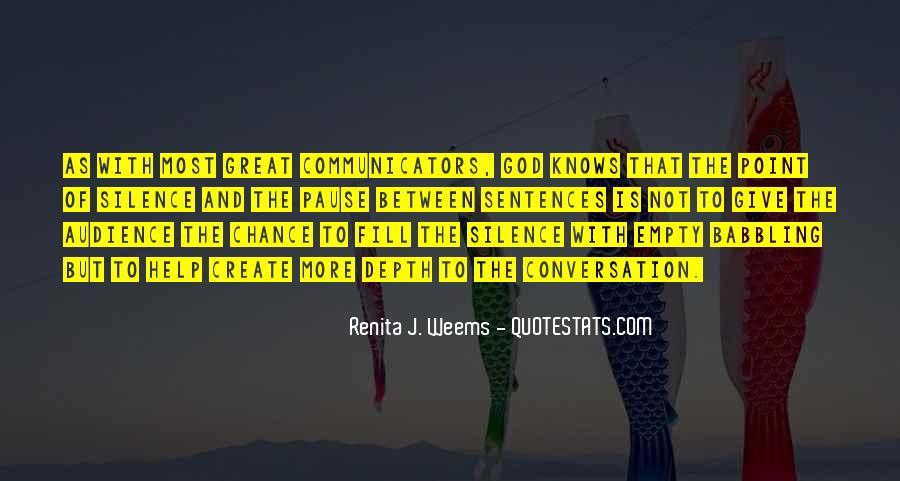God Conversation Quotes #204186